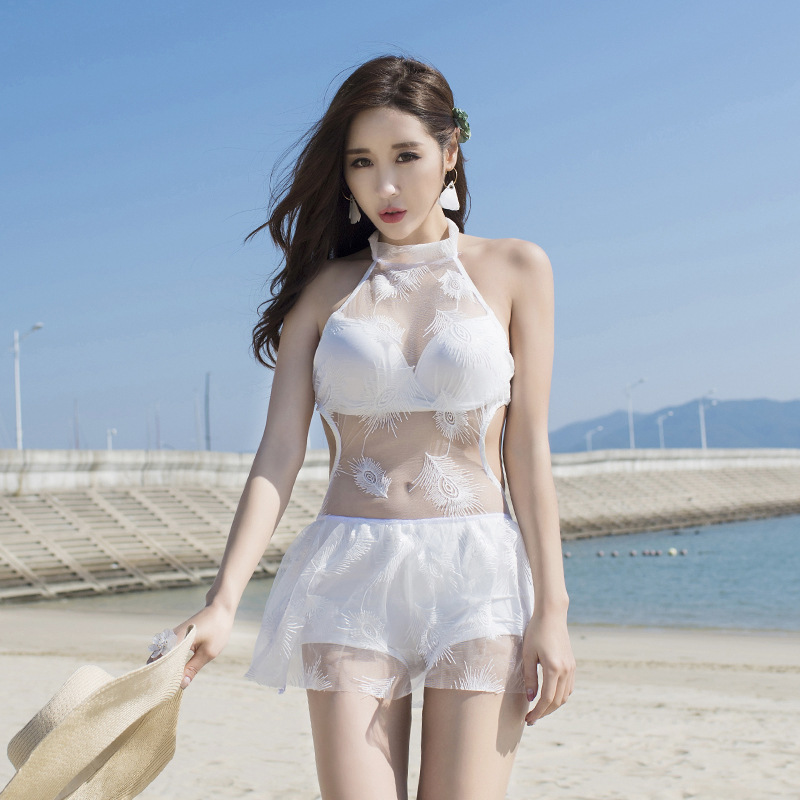 Bathing Suit Women Swimwear One Piece Woman One-Piece Swimsuit Female Plavky Rashguard 2018 Skirt Cover Push Up Korean Girl rashguard mergulho rashguard a808