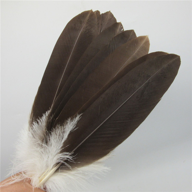 10 pcs 12-14inch/30-35cm high quality natural Eagle bird feathers Selected Prime Quality Eagle feathers diy jewelry decoration