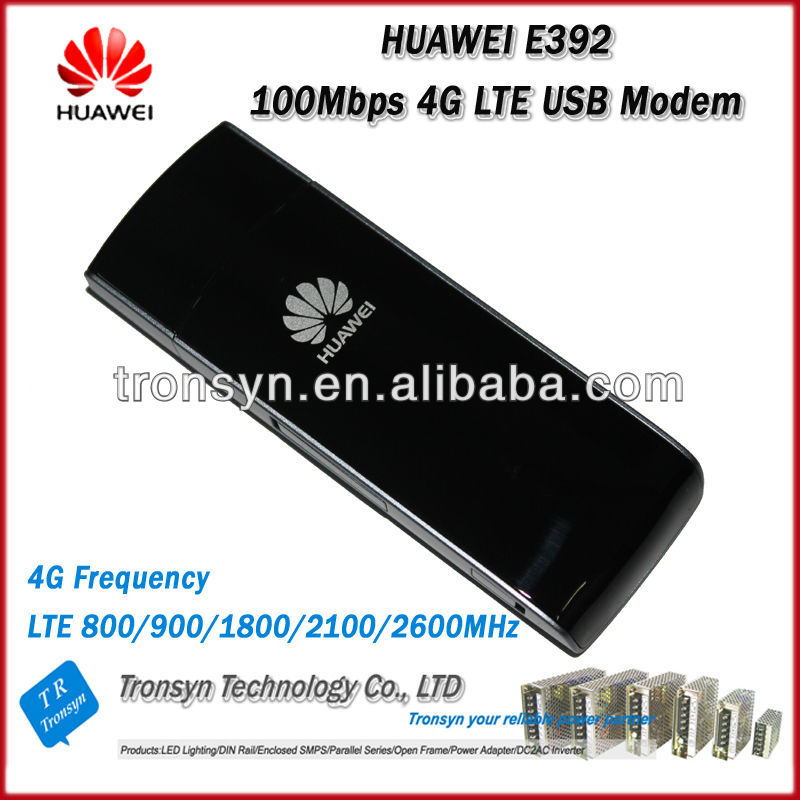 Hot Sale Original Unlock 100Mbps HUAWEI E392 4G LTE USB Modem Support  LTE FDD B1 B3 B7 B8 B20 hot sale 100% original english panel for launch cnc602a injector cleaner
