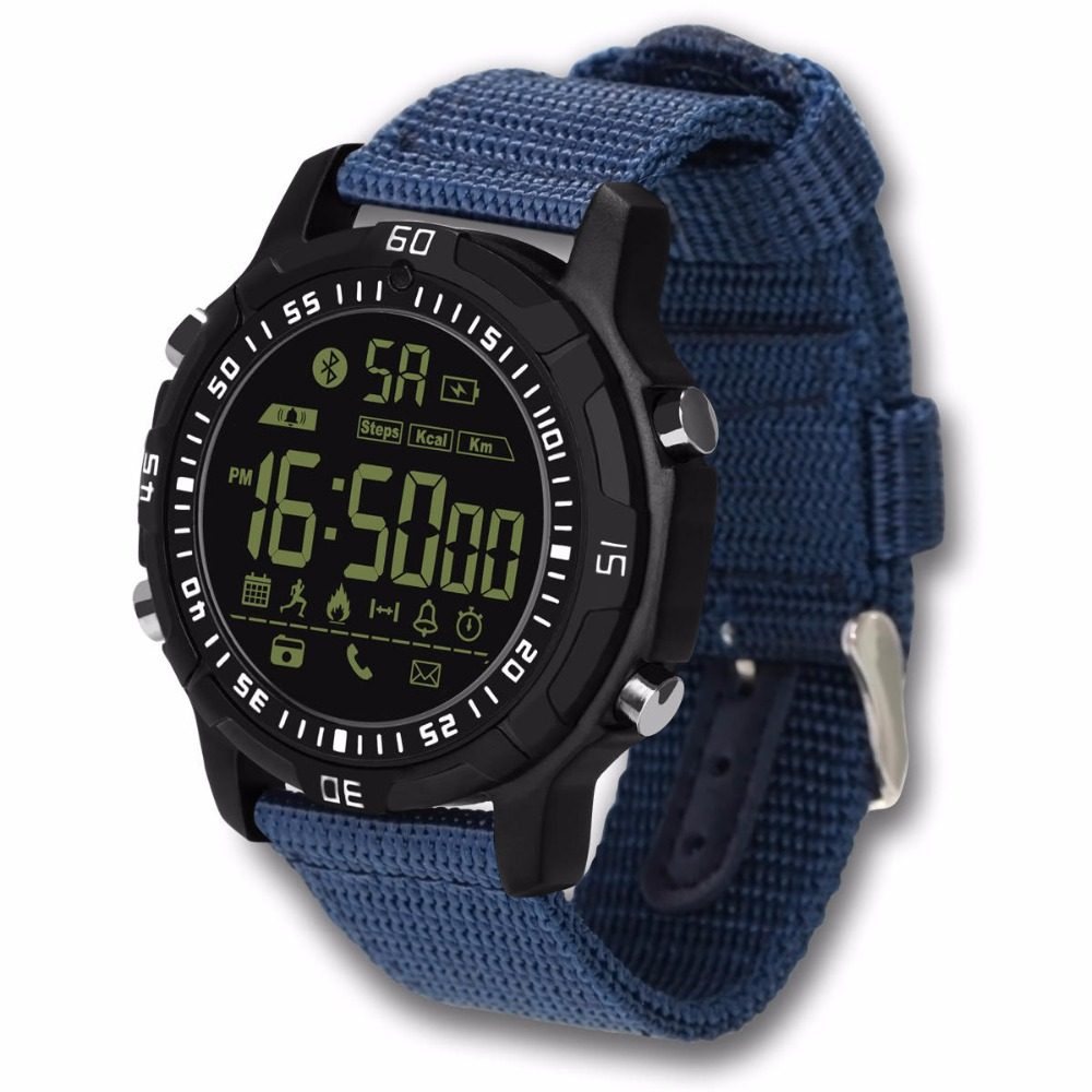Waterproof Stand-by Pedometer Sports Smart Watch for iOS Android