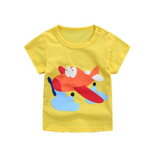 Boys Tops Summer 2018 Brand Children T shirts Boys Clothes Kids Tee Shirt Fille Cotton Character Print Baby Boy Clothing 3t5t24M