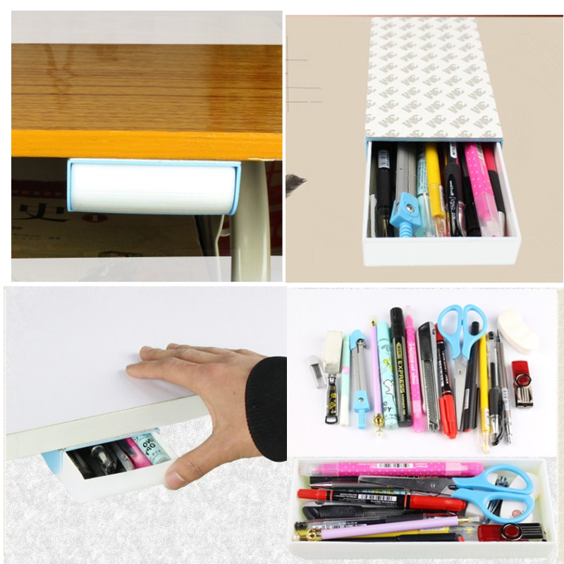 Fromthenon Pencil Box Automatic Pop-up Stealth Drawer Girls Boy Pencil Case For School Pencil Cases Kawaii Stationery Supplies magnetic buckle up pencil case