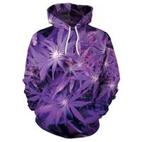Great New Color Discount Top Quality 3D Purple Color Men Hoodies On Hot Sales Free Shipping Men Sweatshirts & Hoodies
