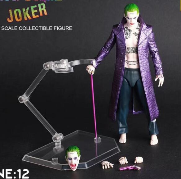 NEW hot 15cm Suicide Squad The Joke movable collectors action figure toys Christmas with box