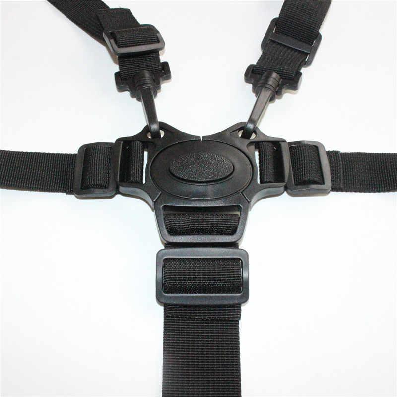 Универсальный Детские 5 точка жгут безопасный ремень ремни безопасности для высокое сиденье для коляски коляска детей Детский пояс аксессуары колясок