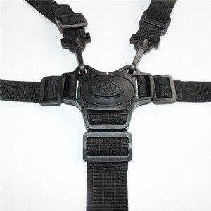 Universal Baby 5 Point Harness Safe Belt Seat Belts For Stroller High Chair Pram Buggy Children Baby Belt Stroller Accessories(China)
