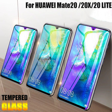 2pcs Full Screen Covered Tempered Glass For Huawei Mate 20 lite 20X Explosion-Proof Protective Glass For Huawei Mate 20 X 20X