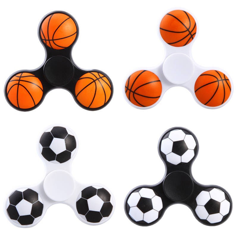 JYF Football Fidget Spinners Plastic EDC Anti Stress Toy