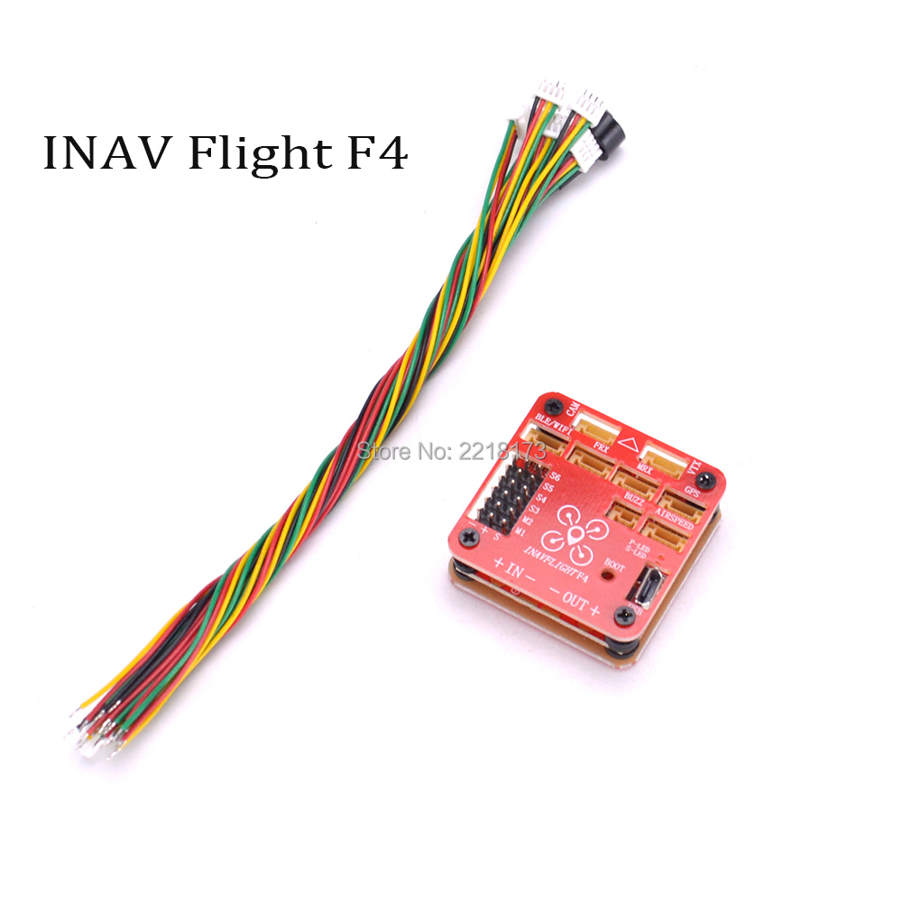 INAV FLIGHT F4 Flight Controller Built-in OSD & Battery Voltage Current Monitor 2-6s support INAV firmware For RC Quadcopter crius flight controller board support ardu plane ng multiwii firmware