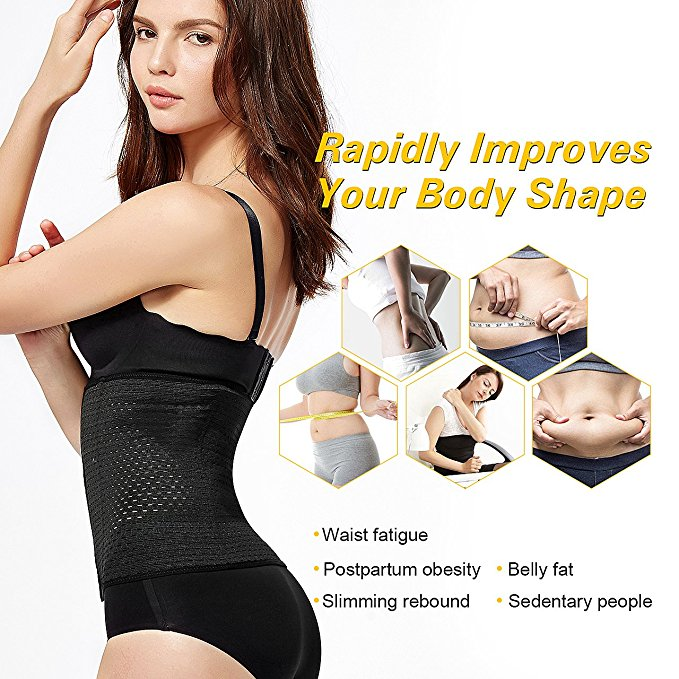 Adjustable and Breathable Posture Corrector Belt with 3 to 6 Row Hooks for Women for Straightening of Back and Correcting Body Shape 2