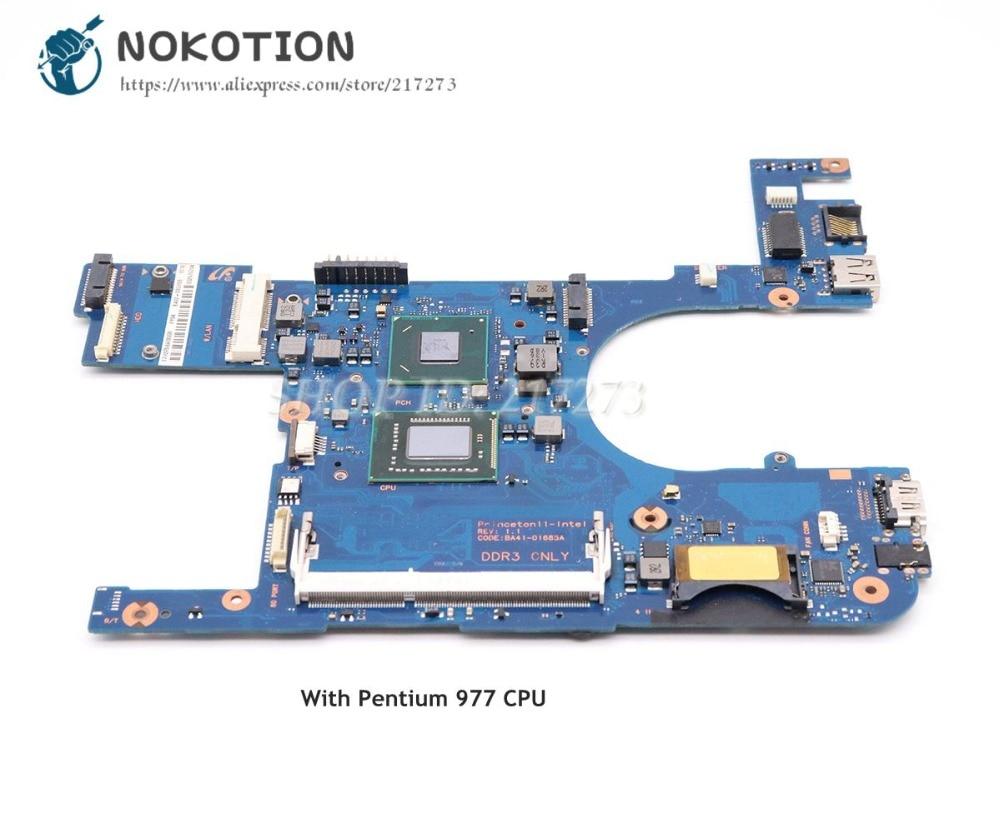 NOKOTION For Samsung 350U2A 350U2B Laptop Motherboard Pentium 977 CPU DDR3 BA92-09370A BA92-09370B  BA41-01685ANOKOTION For Samsung 350U2A 350U2B Laptop Motherboard Pentium 977 CPU DDR3 BA92-09370A BA92-09370B  BA41-01685A