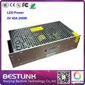 Frete grátis CL power switch para rgb LED screen display LED 5V40A200W poder 110 V / 220 V para p8 p10 p16 levou parede de vídeo tela LED
