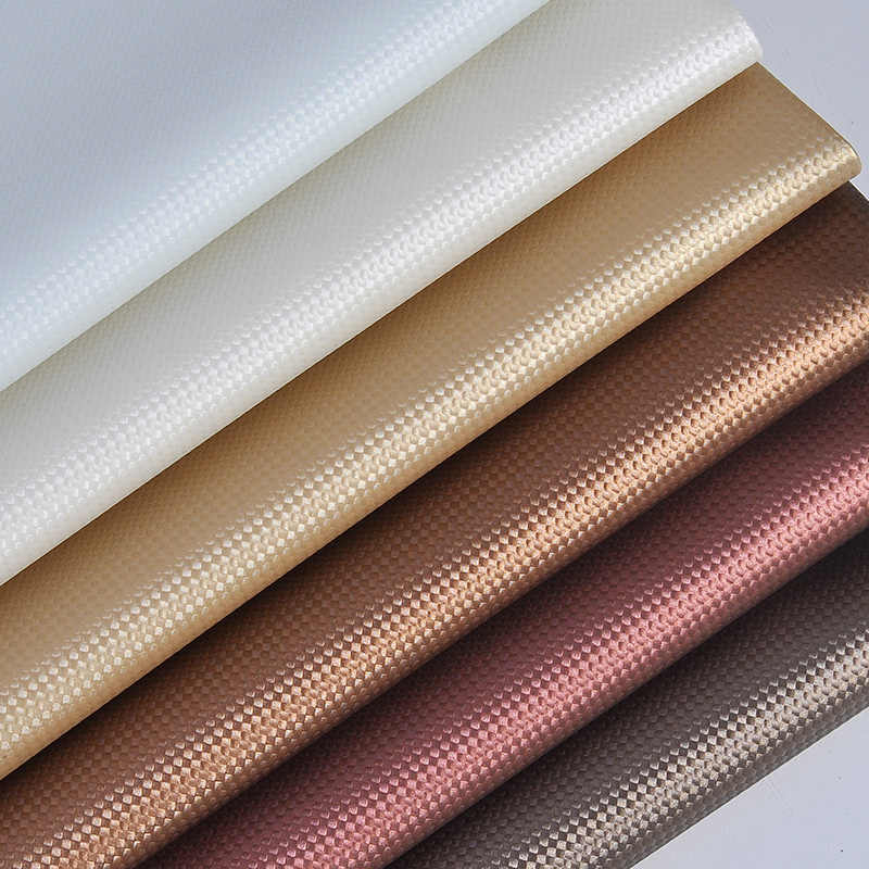 1 Meter Semi Pu Artificial Leather For Upholstery Material Embossed Faux  Leather Eco Skin Leather Bag bc87da7587d2
