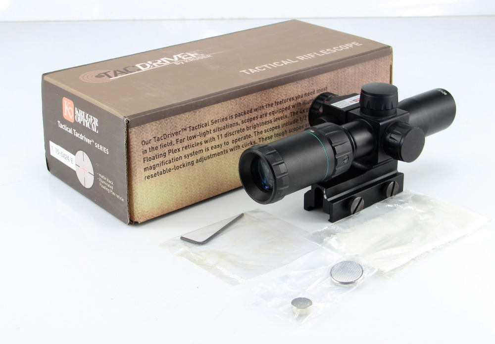 Red Green Illuminated Riflescope Floating Plex Reticle Optics 1.75-5X24 /E Tactical Hunting Air Rifle Shotgun Laser Sight Scope tactical hunting optics sniper deer hunting scope 1 75 5x24 e red green illuminated riflescope red laser airsoft gun hunt scope
