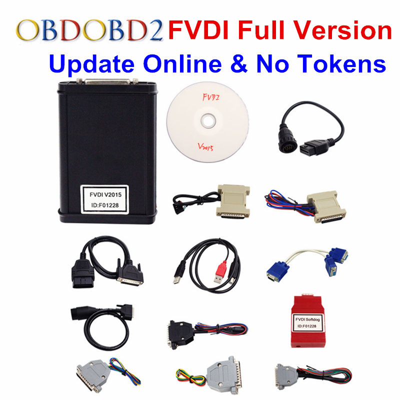 100% FVDI Full Version (Including 18 Software) FVDI 2018 ABRITES ABRITES Commander Without Limited FVDI 2015 Diagnostic Scanner 2017 fvdi2 abrites commander for honda hds v3 016 with free j2534 drewtech software