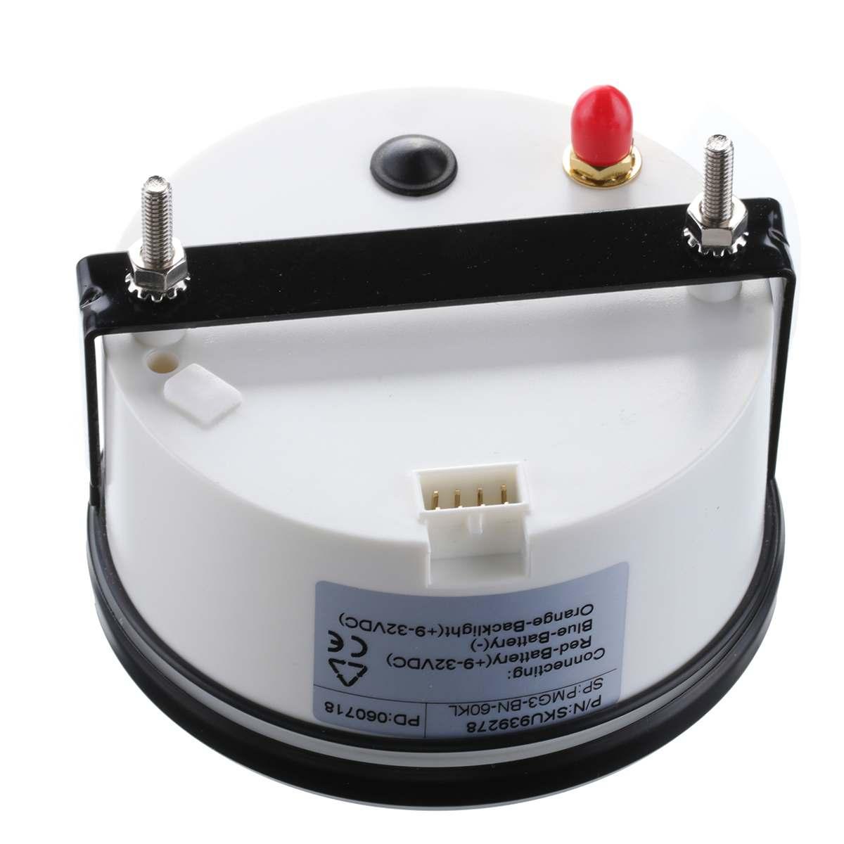 85mm Auto Car Truck Marine GPS Speedometer Waterproof Speed Sensor Meter Gauge Digital Odometer Automobiles Replacement Parts 8