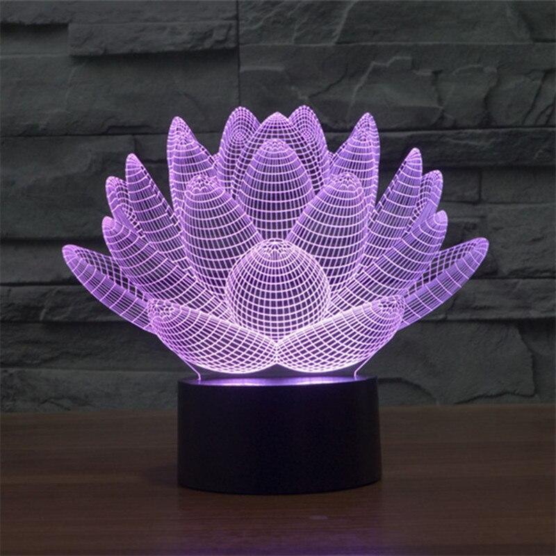 Luzes da Noite venda quente impressionante de lótus Potência : 0-5 w