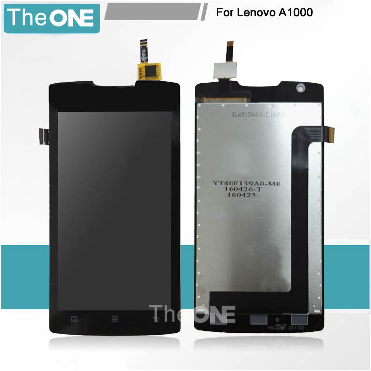 4.0inch Tested Working LCD Display Touch Screen Digitizer Assembly For Lenovo A1000 Mobile Replacement