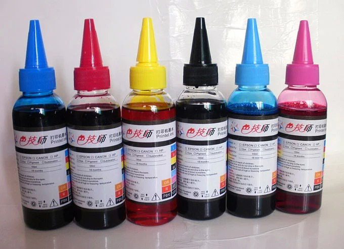 600ML Refill Ink for HP 363 177 02 801 Refill Cartridge and CISS Ink for HP 3110 3210 3310 8230 C5180 C6180 C6280 C7160 C7180