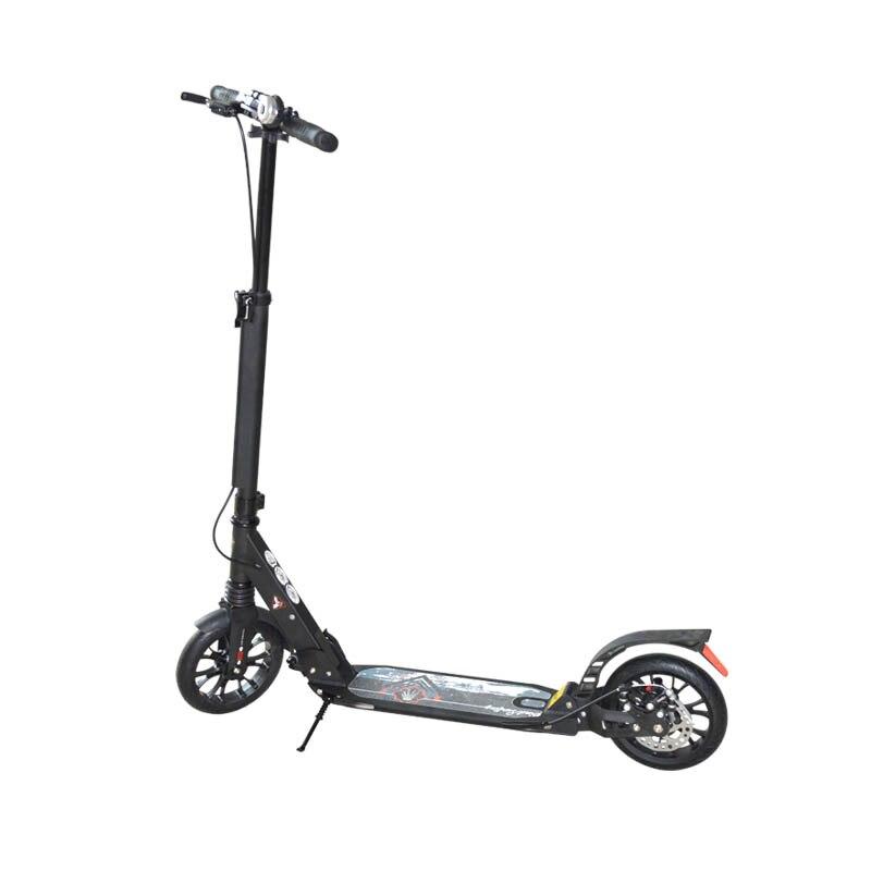 Adulte enfants scooter nouveau pliable PU 2 roues frein à main frein à pied Scooter en alliage d'aluminium campus urbain outils de transport