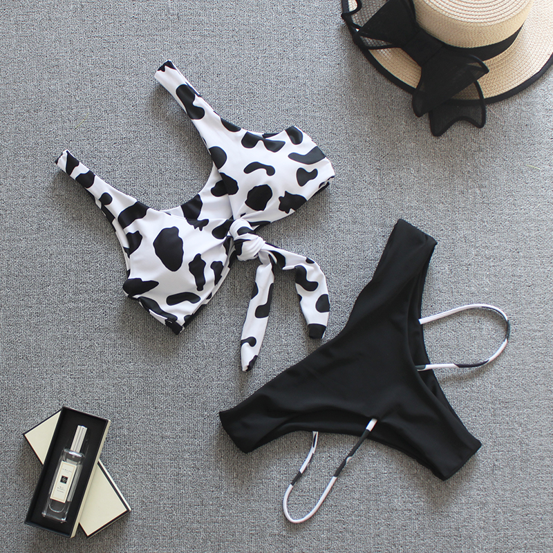 FORESTIME/_baby clothes girl FORESTIME Toddler Baby Girls Spot Cow Pattern Swimsuit Swimwear Backless Braces Outfit