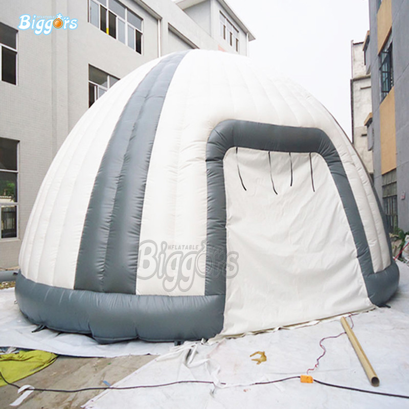 купить Inflatbale dome tent inflatable outdoor hot selling dome tent with blowers онлайн