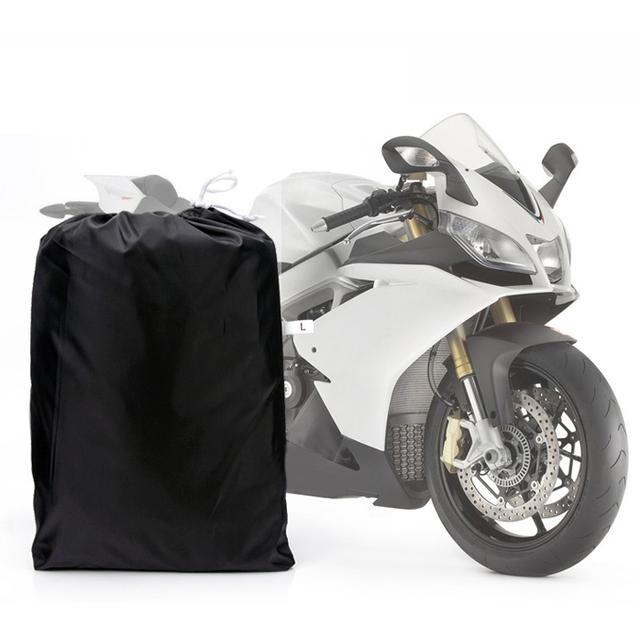 EDFY L Grande À Prova D' Água Ao Ar Livre Da Motocicleta Moto Bicicleta do Cruzador Scooter Capa