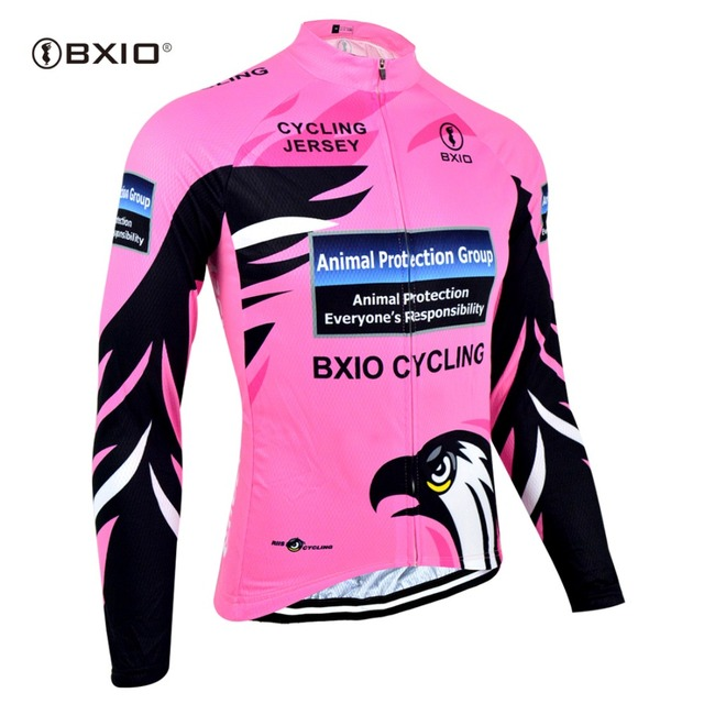 BXIO Long Sleeve Cycling Jersey Sports Women Cycling Clothing Breathable  Shirt Road Mountain Bike Wearing Maillot 397e8313d