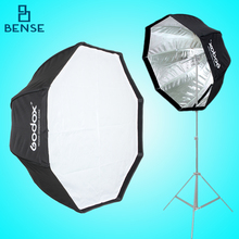 Godox Photo Studio 80 cm/31.5in Portátil Octagon Flash Speedlite Flash Paraguas Softbox Soft Brolly Caja Reflector
