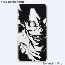 Death Note Case Cover for Xiaomi Mi 6 5 5s Plus 4 4c 4s Redmi 3 3s 4A Note3 4X