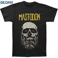 GILDAN New Fashion Mens Short Sleeve Tshirt Cotton T Shirts Mastodon Admat T Shirt