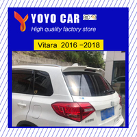 Hot sale Original design black white or primer unpainted color ABS rear wing roof spoiler for Vitara 2016 2017 2018