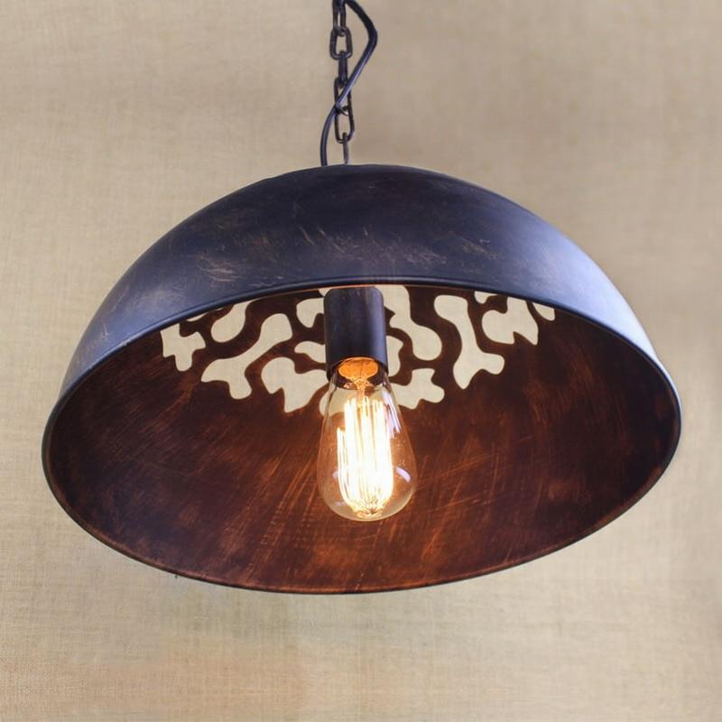 Reto vintage Industrial Era Task Large Pendant lamp illumination For Kitchen Cabinet bar coffee lights Hardware Lighting lights