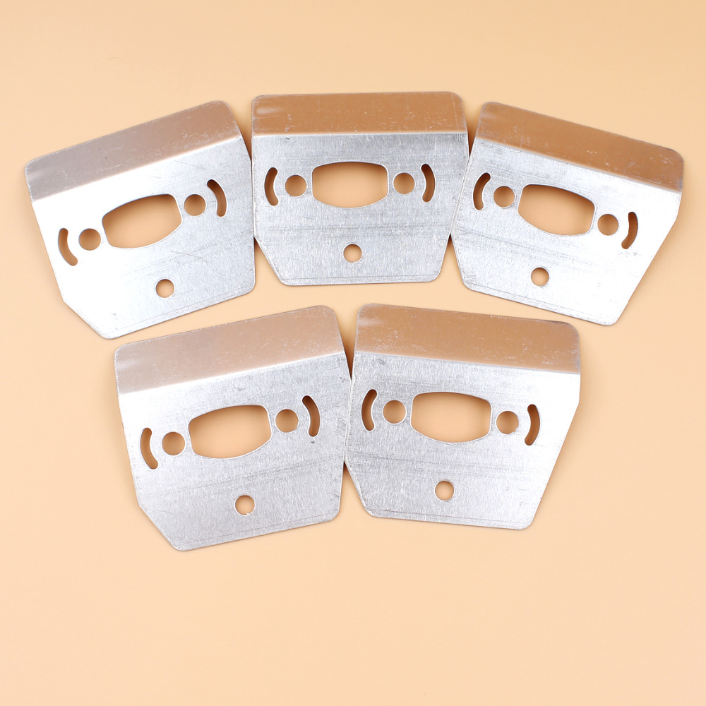 5Pcs/lot Muffler Cooling Plate Heat Shield For Husqvarna 36 41 137 142 E 136 141 LE 530069415 Chainsaw Spare Parts