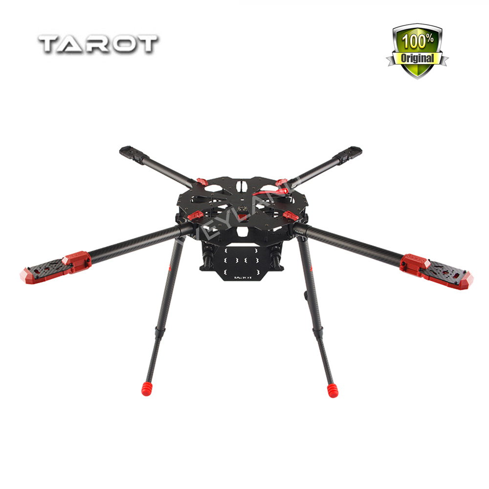 Tarot X4 4 Axis Umbrella Carbon Fiber Foldable RC Quadcopter Drone FPV Frame TL4X001 PCB Electronic Retractable Landing drone with camera rc plane qav 250 carbon frame f3 flight controller emax rs2205 2300kv motor fiber mini quadcopter