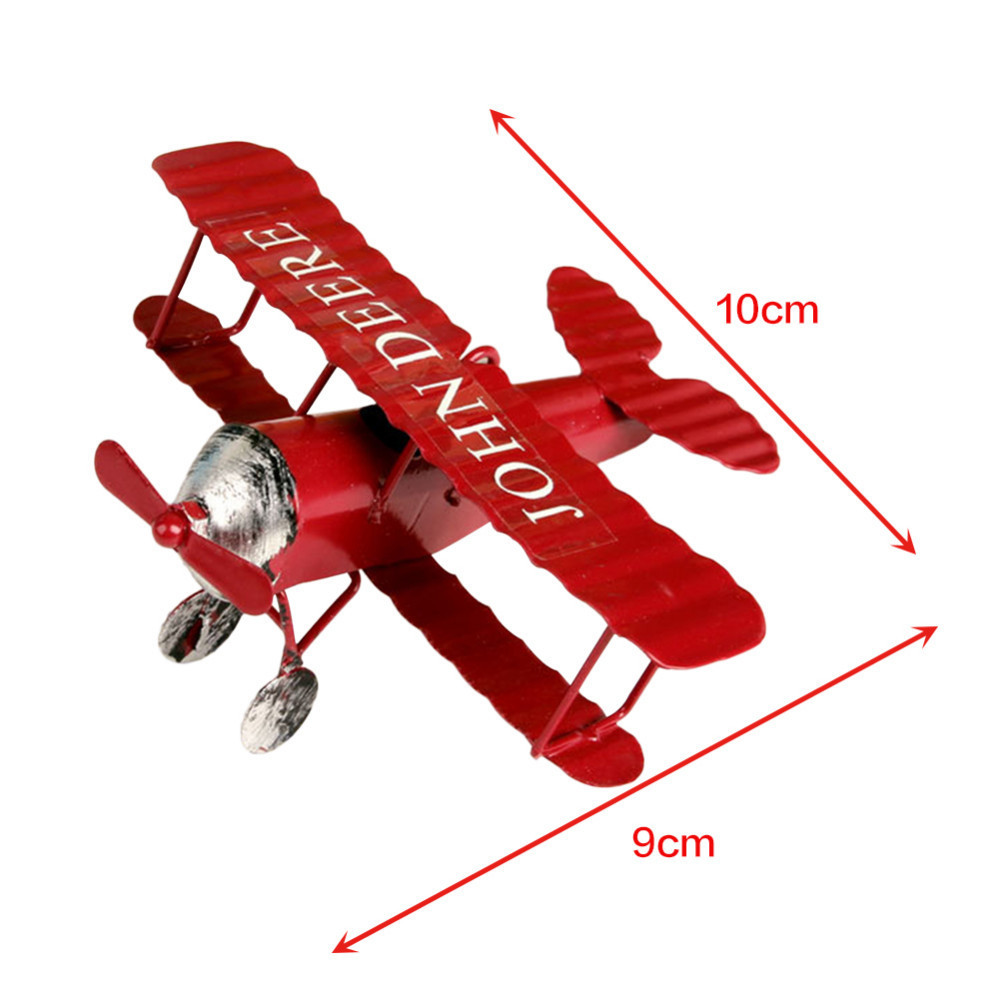 Home Decoration Collection Us 1 96 20 Off Vintage Airplane Aircraft Model Home Craft Decoration Collection Decor Mini Desktop Home Decoration Nice Gifts For Boys In Figurines
