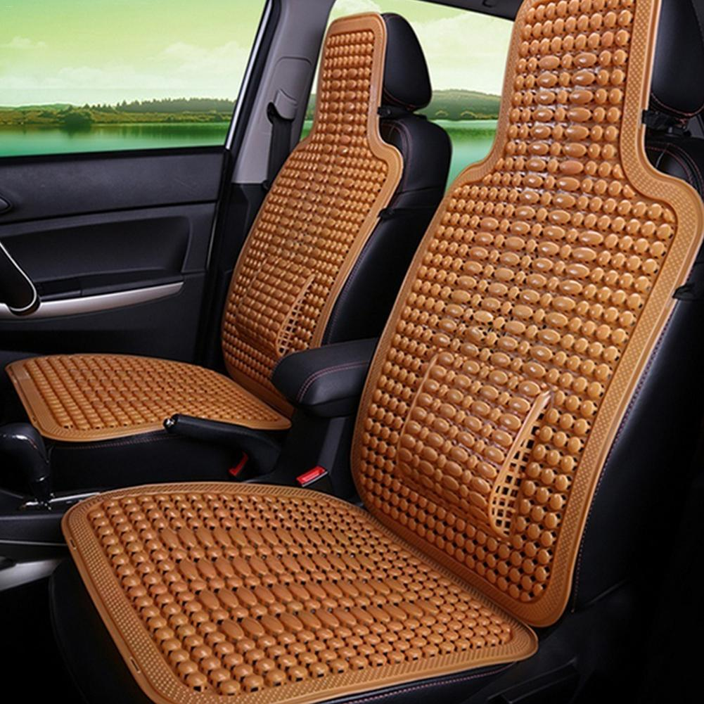 Chair-Cover Cushion Massage Car-Seat Cool Universal Breathable Summer Automobile PVC