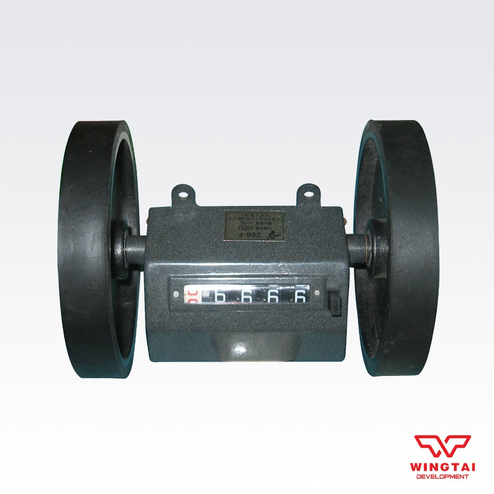 Z96-F type 5 bit Length Counter Meter Counter 200times/min Reversible Meter Gauge Rolling Wheel Type Counter Made in China free shiping z96 f 5 digit meter counter mechanical length measure counter instrument used to measure length