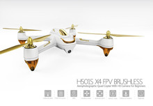 Hubsan H501S Quadcopter FPV Drone RTF X4 PRO 5.8G GPS Brushless Follow Me Drone with 1080P HD Camera White F18977