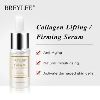 BREYLEE Collagen Lifting Firming Serum Hyaluronic Acid Moisturizing Essence Anti Aging Remove Wrinkles Face Cream Skin