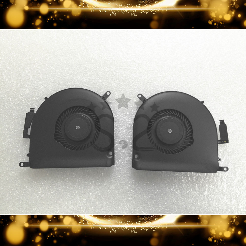 Cooling Fans Replacement For Macbook Pro 15 inch A1398 CPU Cooler Fan 2013 2014 2015 year image