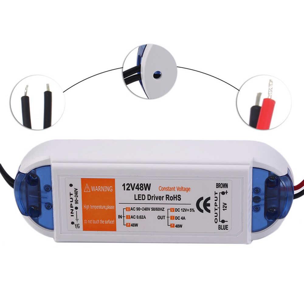 Новинка для Светодиодные ленты потолочная лампочка Питание DC12V 100 W СИД освещения светодиодный трансформатор