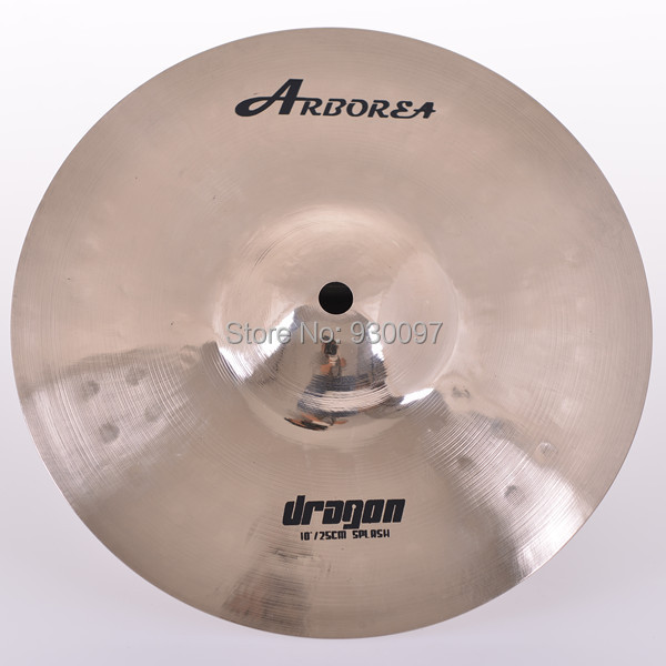 PROFESSIONAL cymbal 100 handmade DRAGON 10 SPLASH CYMBAL