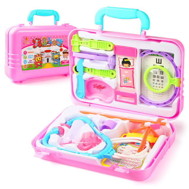Doctor Box Kids Pretend Play Toys Set For Children Plastic Kids Medicine Role Play Educational Baby Doctor Toys Random Delivery