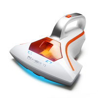 Free Shipping By DHL 1PC 400W Household Portable Vacuum Cleaner Mini Handheld Suction Machine Mite Terminator