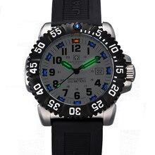 Switzerland H3 Luminous Hands Carnival Luxury Brand Mens Watches Quartz Military Watch Men 200M Diver Waterproof clock C8447-2