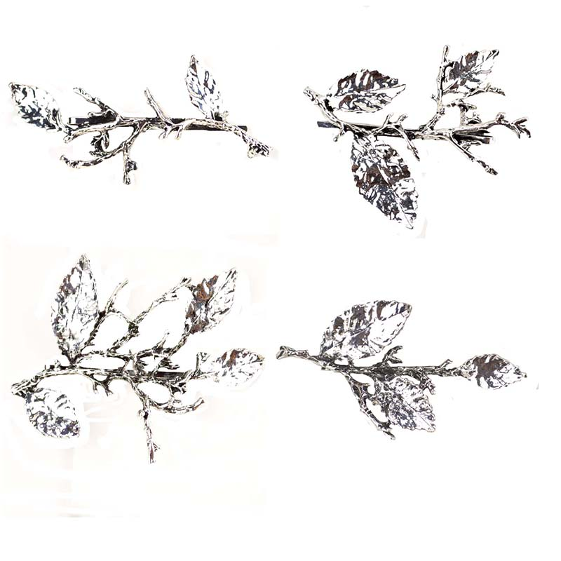 Hair Jewelry Frugal New Antiqu Tree Branch Hairpin Hair Clips Barrettes Girl Hair Accessories For Women Headwear Pins Accesorios Para El Pelo Fj-045 Professional Design Jewelry Sets & More