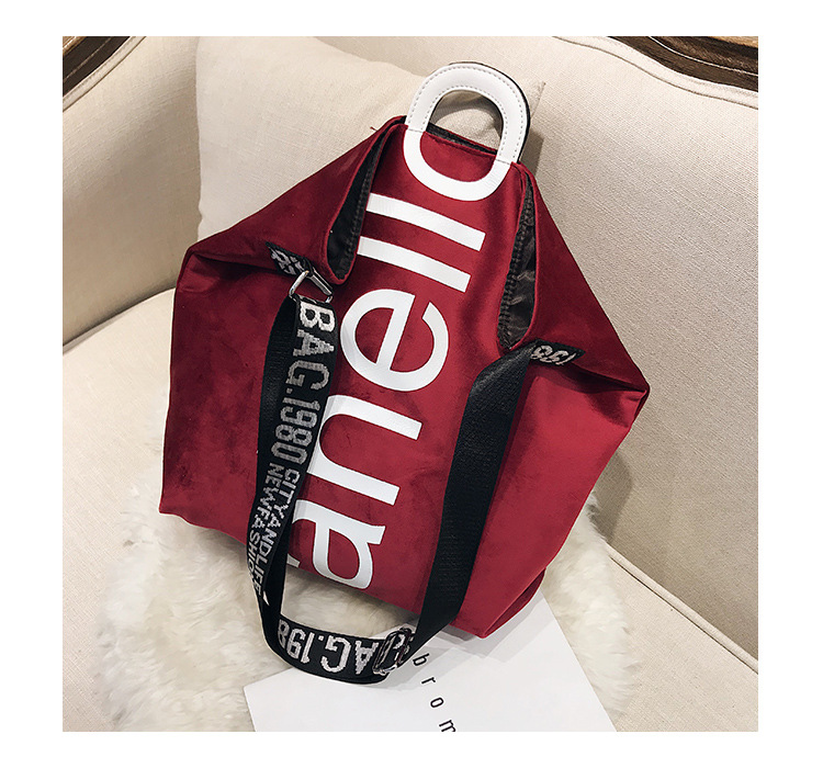 HTB11MhRXELrK1Rjy0Fjq6zYXFXaE - New Large-capacity Velvet Handbag Fashion Lady Letter Shoulder Crossbody Bag High Quality Women's Shopping Bag Tote