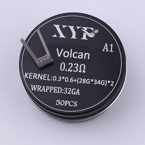 Image 5 - XYF 50ชิ้นแคลปตันขดลวดคนต่างด้าวv2ร้อนลวดสำหรับRDA RBA Rebuildableขดลวดเครื่องฉีดน้ำบุหรี่อิเล็กทรอนิกส์Vaporizerขดลวดลวด