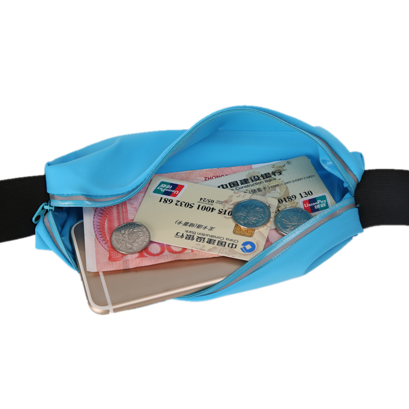 Summer Fashion Adjustable Functional Waist Bag Women Money Phone Belt Bag Travel Chest Pack Waist Pack Bag Men Anti-theft